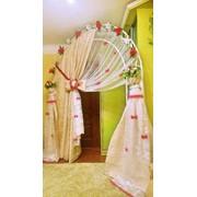 Свадебный декор арка для церемонии прокат и аренда фото