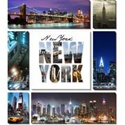 Модульная картина Нью Йорк , Неизвестен фото