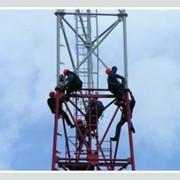 Ремонт, обслуживание антенно-мачтовых сооружений фото