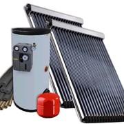"""Системы солнечного нагрева воды, гелиосистемы на 300 л/сут. """"под ключ"""". фото"""