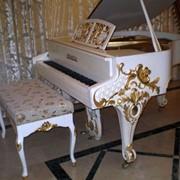 Реставрация рояля фото