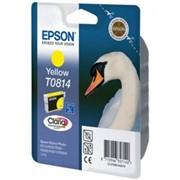Картридж Epson Yellow для Stylus Photo R270/R290/RX590 High желтый фото