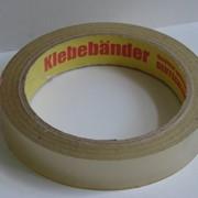 Клейкая лента (скотч упаковочный) 19мм*66 м,прозрачная. фото