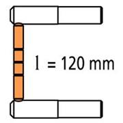 2 плеча RX длиной 120 мм c 2 наконечниками фото