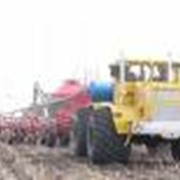 Обработка почвы тракторами К-701 фото