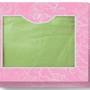 Коробка-сундучок малый (для одного полотенца 70х140) Розово-серая 285х230х50 фото