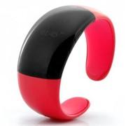 Женский Bluetooth-браслет с часами Red Pearl фото