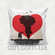 Подушка декоративная с принтом Дружба фото