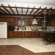 """Кухня из натурального дерева от """"Accord Mebel"""" фото"""