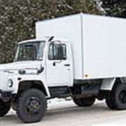 Фургон промтоварный ГАЗ 33086 (Земляк), 4х4 фото