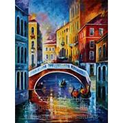 Картина стразами Вечерняя Венеция 63х83 см фото