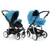 Универсальная коляска 2 в 1 Teutonia Fun 5065/5025 Ocean Blue FUN5065/5025 фото