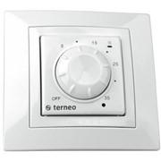 Терморегулятор для обогревателя Terneo rol.Белый фото