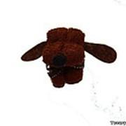 Сувенирное полотенце Dog хлопчатобумажное фото