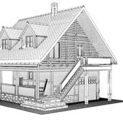 Индивидуальное проектирование домов, бань фото