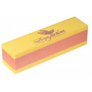 Dona Jerdona Баф шлифовочный двухсторонний желтый/оранжевый фото