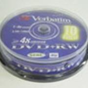 Диск Verbatim DVD+RW фото