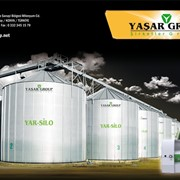 Силос 3, Силосы для зерна, Силосы для муки производитель Турция, Элеваторы и зернохранилища фото