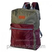 Рюкзак Соло 420 DERBY с карманом для ноутбука 14* бордовый фото