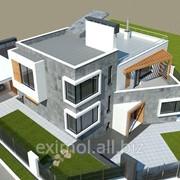 Малоэтажное строительство. фото