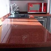 Натуральный природный камень гранит Imperial Red фото