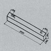 Перемычки железобетонные для зданий с кирпичными стенами серии 1.038-1 фото