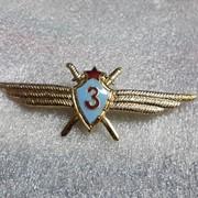 Нагрудный знак летчик 3-го класса фото