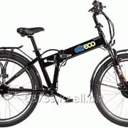 Велогибрид Eltreco Patrol 26 Nexus 3 black фото