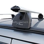 Багажник на крышу Ауди ку3 (Audi Q3) 2011-, на интегрированные рейлинги, Lux 120см фото