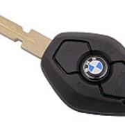 Ключ зажигания в сборе для BMW, PCF7935 (ID44), 315Mhz, HU58, 3 кнопки фото