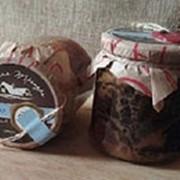 Тушенка из гусятины , вес 450 гр фото