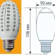 Лампа светодиодная ЛС.GLD8-E27-8Вт фото