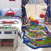 Коврик в детскую комнату Confetti Circle Track 100*165 фото