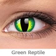 Линзы Crazy INTEROJO Adria Crazy Green Reptile фото