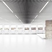 Кубообразные металлические подвесные потолки фото