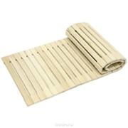Коврик для сауны деревянный фото