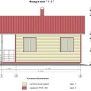 Проекты одноэтажных домов с мансардой фото