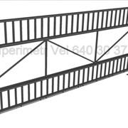 Ворота раздвижные, откатные 2 фото