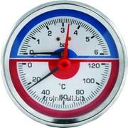 Термоманометр фронтальный ф.80 Evo, арт.13334 фото