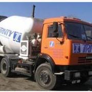 Доставка бетона и строительных растворов фото