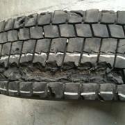 Сложный ремонт грузовых шин R19.5- R22.5 фото
