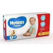 Подгузники Huggies Classic №5 (11-25 кг), 58 шт. фото