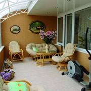 Остекление, ремонт, укрепление балконов, лоджий фото