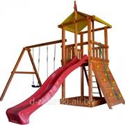 Детская площадка из дерева Беби land-4 фото