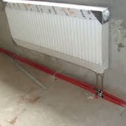 Монтаж и обвязка стального радиатора фото