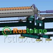 Машина для центробежного литья полимеров фото