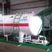Резервуар для сжиженных углеводородных газов (СУГ) подземный СР071.000.00 фото
