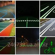 Светящаяся краска для дорожной разметки AcmeLight Road фото