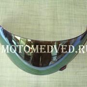 Стекло шлема хамелеон, внутренние крепления , закрытый шлем фото