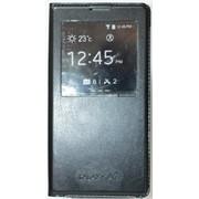Чехол-книжка кожаный S View Cover для Samsung Galaxy A7 A700H черный HC фото